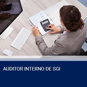 AUDITOR INTERNO DE SGI – NORMAS ISO 9001:2015, ISO 14001:2015 E OHSAS 18001:2007