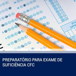 PREPARATÓRIO PARA EXAME DE SUFICIÊNCIA CFC