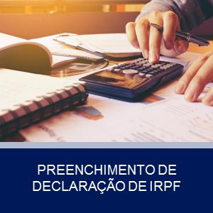 PREENCHIMENTO DE DECLARAÇÃO IRPF