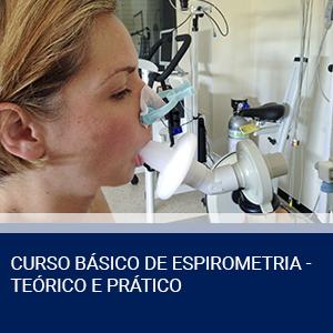 CURSO BÁSICO DE ESPIROMETRIA – TEÓRICO E PRÁTICO