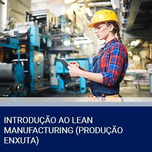 INTRODUÇÃO AO LEAN MANUFACTURING (PRODUÇÃO ENXUTA)
