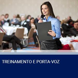 TREINAMENTO E PORTA-VOZ
