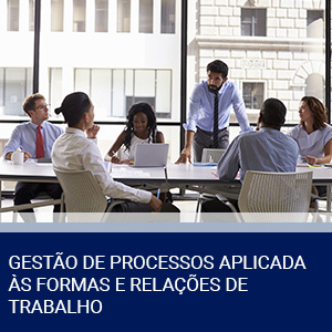 GESTÃO DE PROCESSOS APLICADA ÀS FORMAS E RELAÇÕES DE TRABALHO
